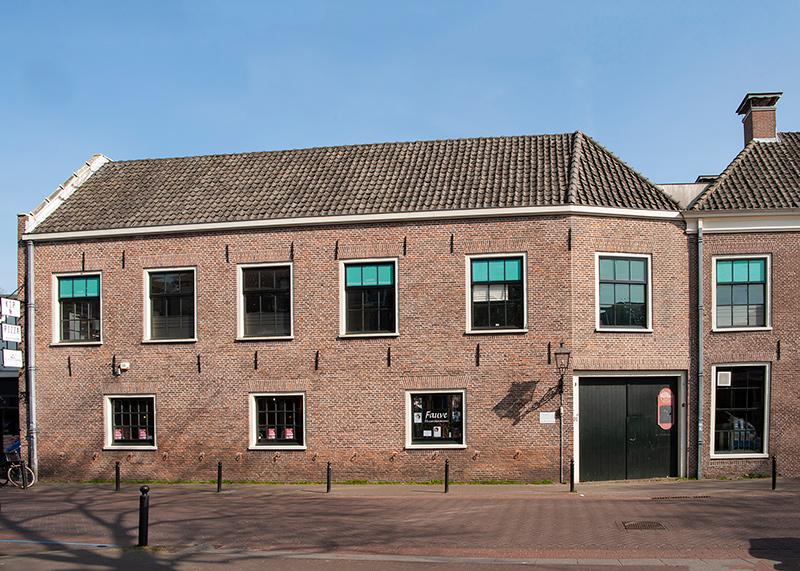 Kantoor Jan Derkman gebouw buiten