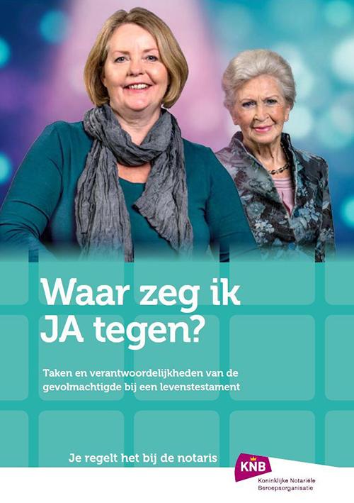 brochure waar zeg ik ja tegen-cover